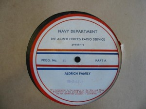 Label for Aldrich Family 14