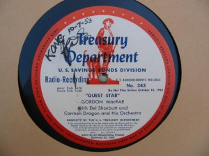 disc label for Guest Star 343-4