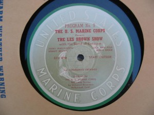 Disc labell for Les Brown Show 9