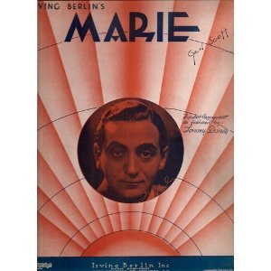 "Vintage Sheet Music Of ""Marie"""