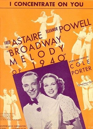 Vintage Sheet Music Cover Of